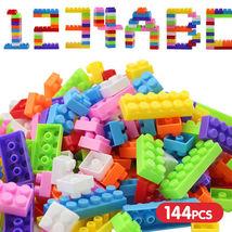 Mini 140Pcs Plastic Children Kid Puzzle Educational Building Blocks Bric... - $19.99