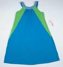 HYPE NWT GIRLS 16 DRESS ELEGANT BLUE GREEN SEQUINS SLEEVELESS SPRING SUM... - $21.03