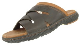 TIMBERLAND 7703A MEN'S EARTHKEEPERS HOLLBROOK  LEATHER SLIDE SANDALS US ... - $39.99