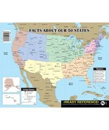 Carson Dellosa Instructional Fair Facts About Our 50 States Ready Refere... - $2.99