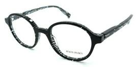 Alain Mikli Rx Eyeglasses Frames A03064 B0F6 47-20-140 Crystal Black Italy - $103.41