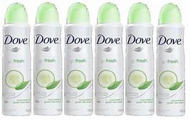 Dove Anti-Perspirant Deodorant Spray, Cucumber (30 Ounce Cucumber & Gree... - $29.36