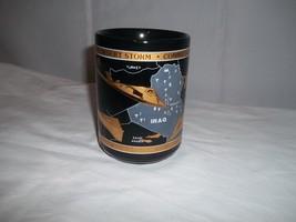 Desert Storm Kuwait Liberation Iraq F117 Stealth Kapan-Kent Gold Coffee Mug Cup - $9.89