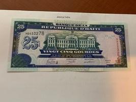 Haiti 25 gourdes uncirc. banknote 2015 #2 - $5.95