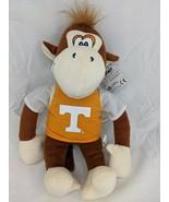 "Team Spirit Monkey Plush 14"" UT University of Tennessee Stuffed Animal Toy - $12.95"
