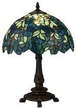 "Meyda Tiffany 124813 Nightfall Wisteria Accent Lamp, 17"" H - $223.20"