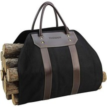 INNO STAGE Canvas Log Carrier Bag, Waxed Durable Wood Tote, Fireplace St... - $28.34