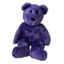 """VTG TY Retired Purple Employee Bear Beanie Baby Buddy Collection 2000 14""""  - $15.83"""