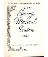 """Playbill - Vintage  March 27,1957 - """"Brigadoon""""  - $6.00"""
