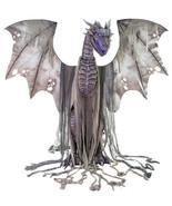 Winter Dragon Animated Prop 7' Animatronic Halloween Decoration - $399.99