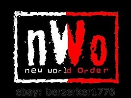 NWO New World Order Canada Wrestling 3'x5' flag banner - WCW, WWF, WWE USA Sell - $25.00