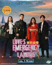 Korean Drama Love's Emergency Landing / Crash Landing On You 1-16 Ship From USA