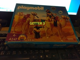 NEW Playmobil 4247 Romans & Egyptians Tomb Raiders with Camels Retired - $40.00
