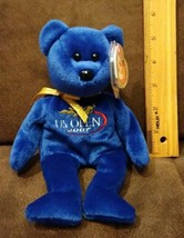 2007 TY BEANIE BABY - TOPSPIN the US OPEN BEAR  - MINT with MINT TAG - $3.99