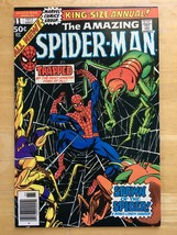 Amazing Spider-Man Annual #11 Marvel Comic Book VF+ Condition 1977 - $17.99