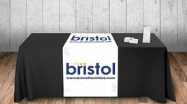 """Customize Table Runner with your logo or Design From 40""""x72 to  40""""x90""""  Great f image 3"""