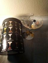 "LOLITA  ""DIVORCE-TINI"" MARTINI GLASS  HAND PAINTED    FREE SHIP  NEW - $22.59"