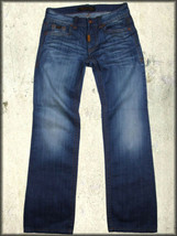 Rivet De Cru Anthony Flap Back Pocket Mens Straight Denim Jeans Medium B... - $75.60
