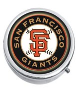 San Francisco Giants Baseball Medicine Vitamin Compact Pill Box - $9.78