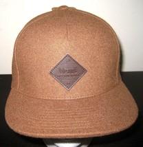 Vans Shoes Mens Grove Snapback Brown Wool Blend Hat Cap Adjustable Free ... - $24.74