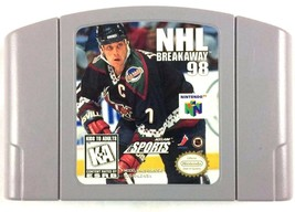 NHL Breakaway 1998 Hockey Cartridge Only Tested and Working Nintendo - $6.88
