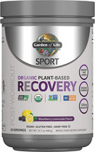 Garden of Life Sport Organic Post Workout Recovery Drink Antioxidant Supplement, - $32.99