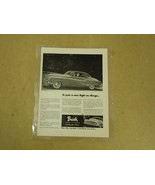 Buick Vintage Laminated Flyer 11in x 11 1/2in Black/White GM Roadmaster ... - $11.35