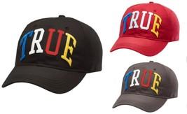 True Religion Men's Embroidered Rainbow Dad Baseball Sport Trucker Hat T... - $36.00