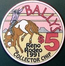 $5 Casino Chip. Bally's, Reno, NV. Rodeo 1991. O71. - $6.95