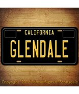 Glendale California City/State/College Vanity Aluminum License Plate Tag... - $12.73