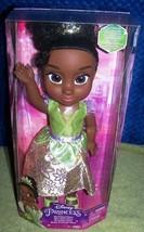 "Disney Princess MY FRIEND TIANA 14""H New - $30.88"