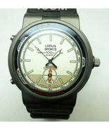 VINTAGE LORUS SPORTS 100 CHRONOGRAPH WATCH WITH ORIGINAL BAND FOR RESTOR... - $91.92