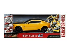 Transformers 2016 Chevy Camaro Jada Hollywood Rides The Last Knight Bumb... - $197.99