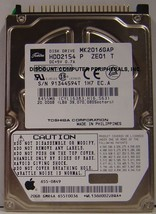 "20GB 2.5"" IDE Drive Toshiba MK2016GAP HDD2154 Free USA Ship Our Drives Work - $10.20"