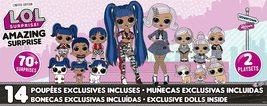 L.o.l. surprise amazing surprise with 14 dolls thumb200