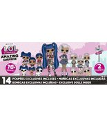 L.O.L. Surprise Amazing Surprise with 14 Dolls, 70+ Surprises & 2 Playset - $129.99