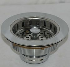 Watts Cast Brass Sink Strainer Stainless Steel Product Number 283 image 3