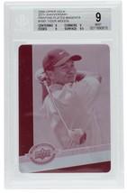 Tiger Woods 09 Upper Deck 20th Anniv Magenta Printing Plate #1681 MT 9 BGS 1/1 - $2,474.99