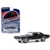 1968 Mercury Cougar GT-E 427 Onyx Black Greenlight Muscle Series 23 1/64... - $13.95