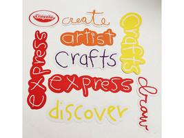 Crayola Word Die Cut Shapes, 36 Cardstock Pieces image 3