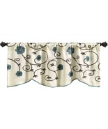 "Lush Decor Royal Garden Window Curtain Valance 18"" x 42"" - $34.44"