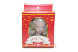 1991 Fibre Craft Vinyl Angel Head & Hands Set for Soft Body Doll Tree To... - $8.91