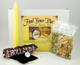 Find Your Place boxed ritual spell kit with instructions - $23.99