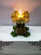 Crystal Beaded Candle Holder Candlesticks Wedding Favor Holder Fire Resi... - $54.44