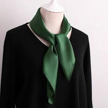 Women Girl Fashion Elegant Small Silk Vintage Square Summer Scarf Head N... - $9.78+