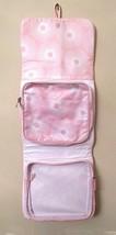 Estee Lauder Hanging Travel Bag Makeup Toiletry Pink White Detachable Pouch - $10.00