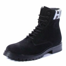 Hugo Boss Men Explore_Halb_wxsd Boots Shoes Black, Size 7 - $327.68