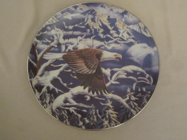 BALD EAGLE collector plate FLIGHT OF A GENERATION Diana Casey CAMOUFLAGE - $28.98