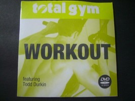 Total Gym Workout DVD features Todd Durkin  - $24.73