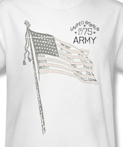 Army united states support retro heros for sale online tshirt graphic white ar107 at thumb200